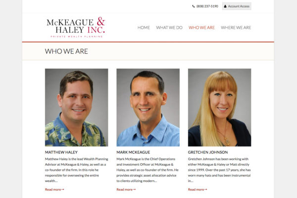 McKeague & Haley Inc.