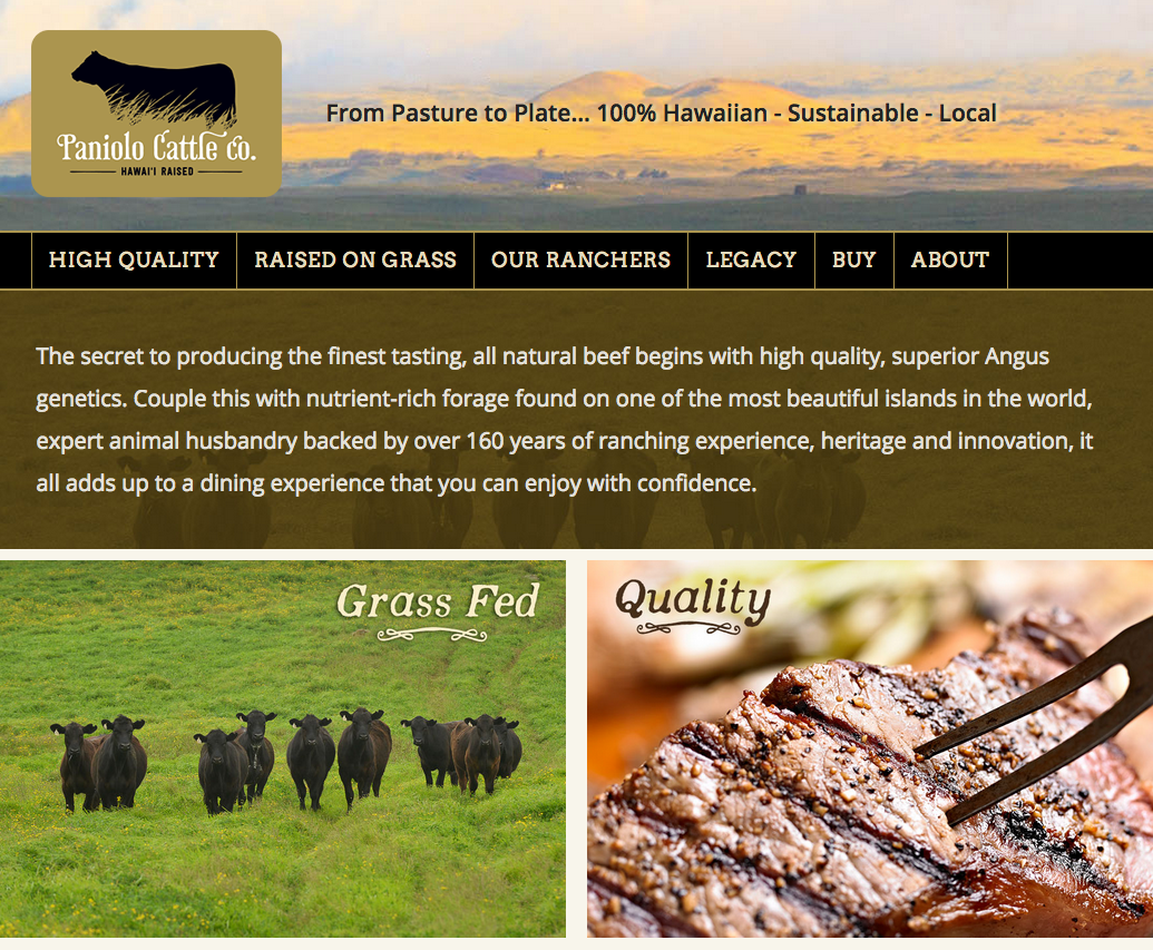 Parker Ranch Joint Venture – Paniolo Cattle Co.