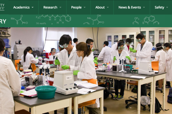 University Of Hawai'i Manoa – Chemistry Department